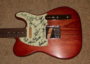 signed pickguard